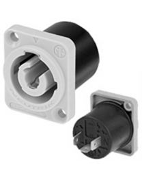 PowerCON Mains Output 3 Pin 20A Panel Mount